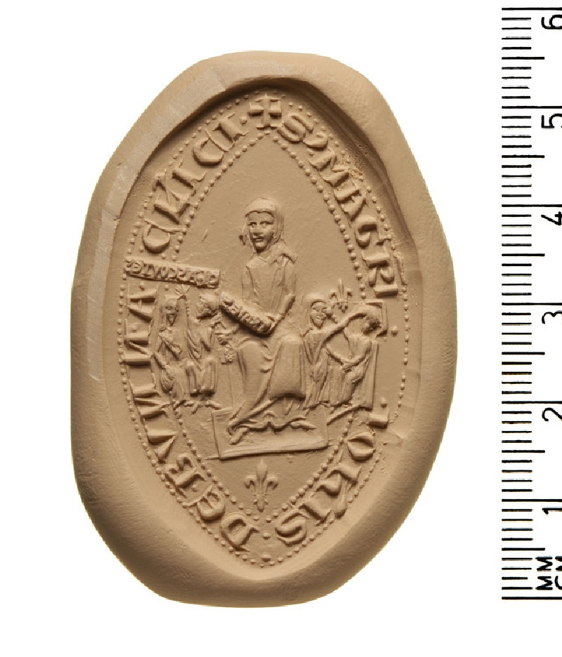 Seal of Master John de clerk, Bunna (AN2009.82)