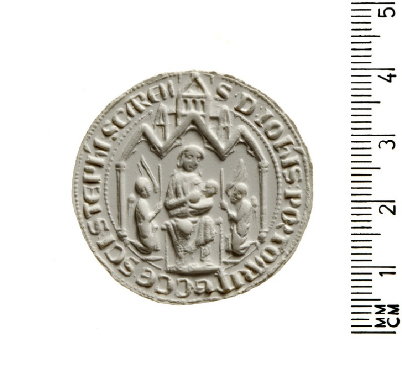 Seal of the Cistercian Convent of Inishlounagt