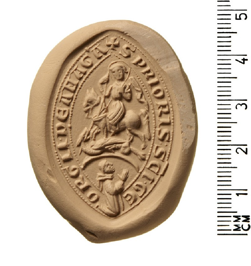Seal of prior of St George, Anagni