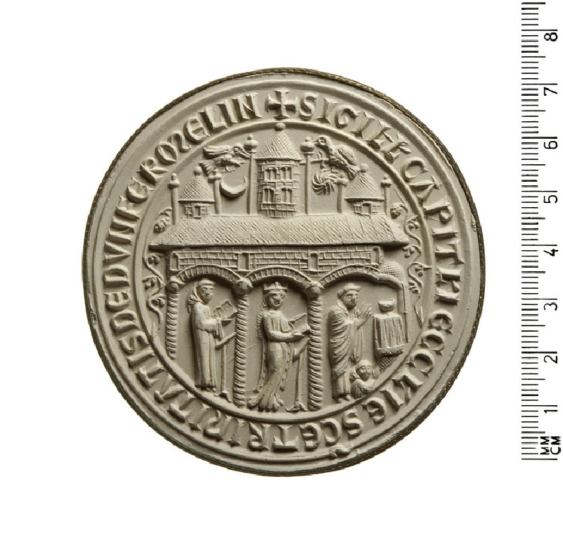 Seal of the Chapter of the Church of the Holy Trinity, Dunfermline, Scotland (AN2009.99)