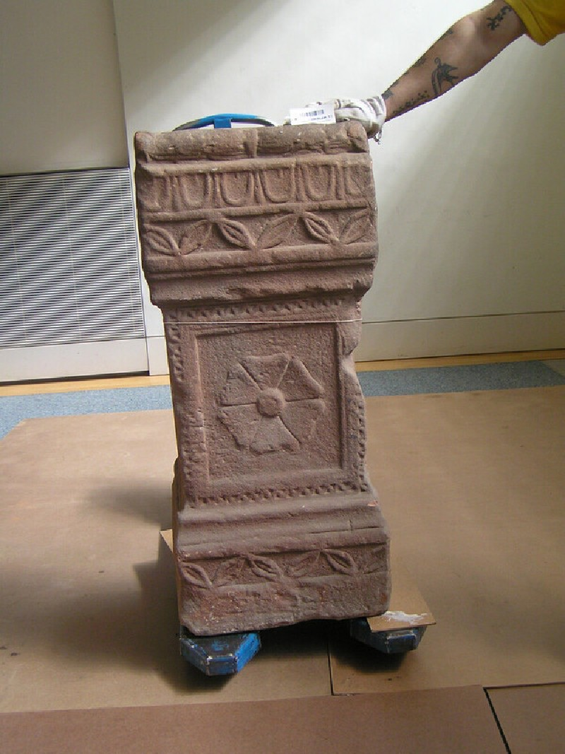 Funerary altar with Latin inscription to Jupiter Tanarus (ANChandler.3.1)
