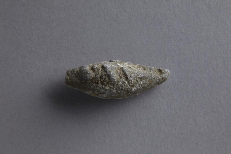 Sling bullet inscribed LXV (ANFortnum.V.250)