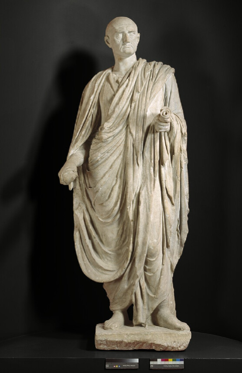 Statue adapted to represent Cicero
