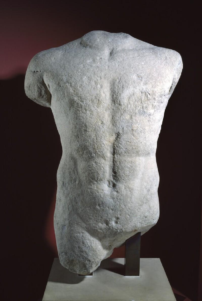 Statue of male torso