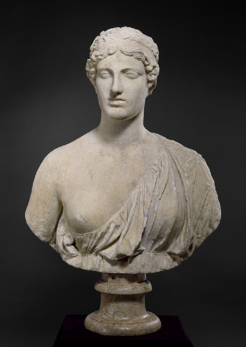 Female bust of Sappho known as 'The Oxford Bust'