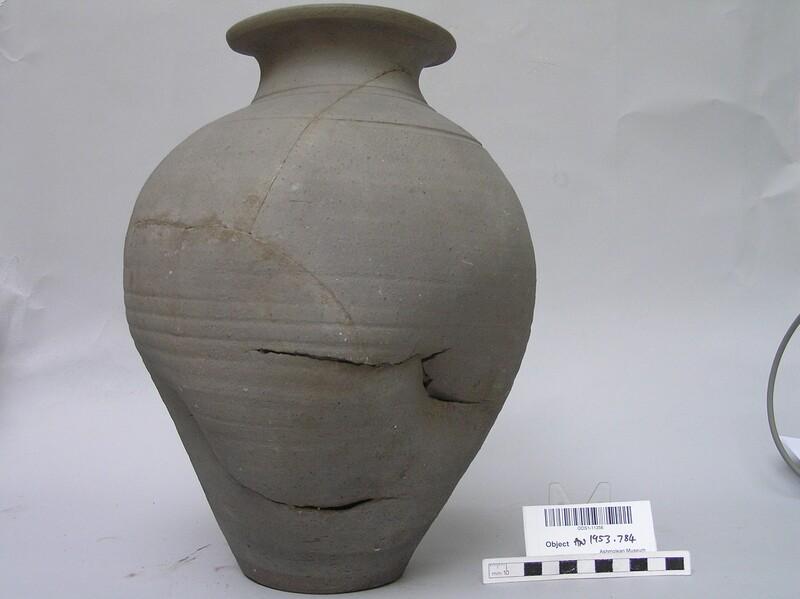 Kiln-damaged jar from Overdale, Boar's Hill