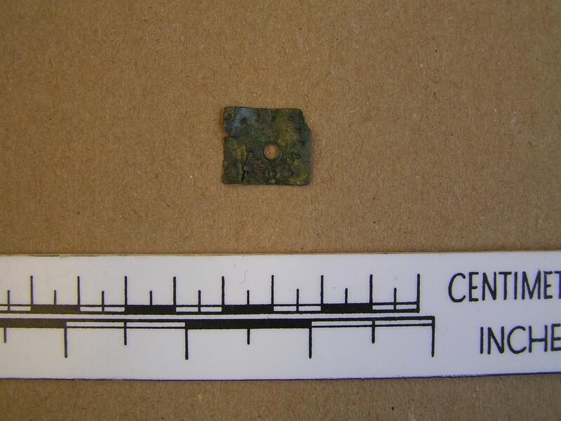 Sheet metal fragment (AN1988.65, record shot)