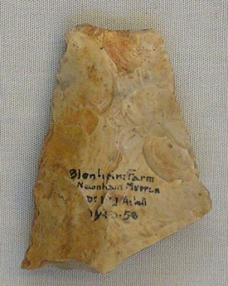 Handaxe (AN1943.58, record shot)