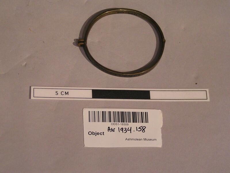 Bracelet (AN1934.158, record shot)