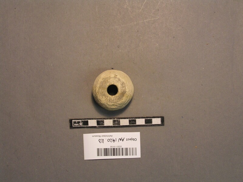 Spindle whorl (AN1920.113, record shot)