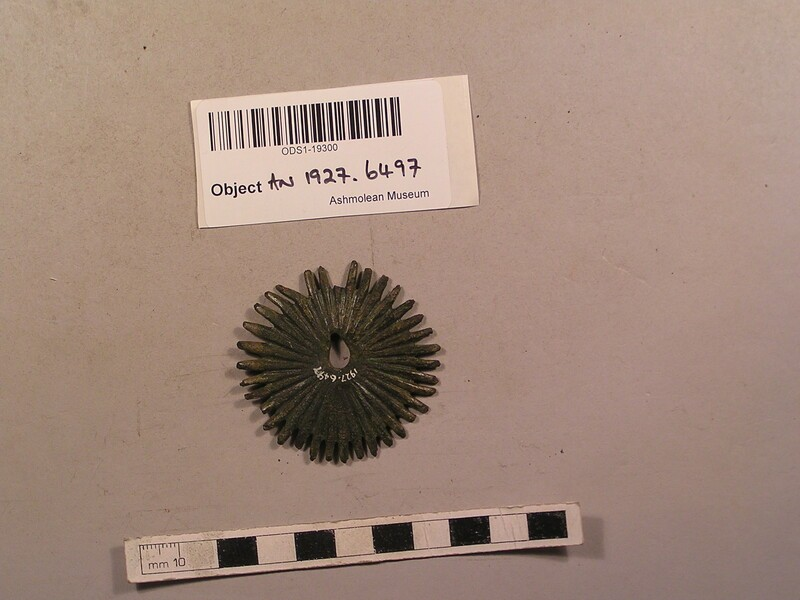 Rowel spur (AN1927.6497, record shot)
