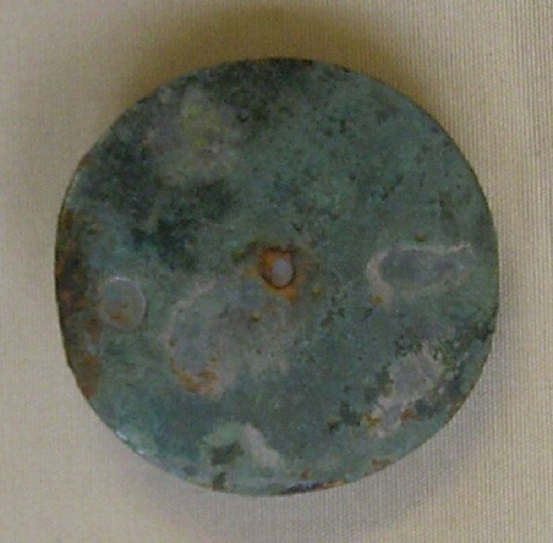 Disc brooch (AN1966.44.a, record shot)