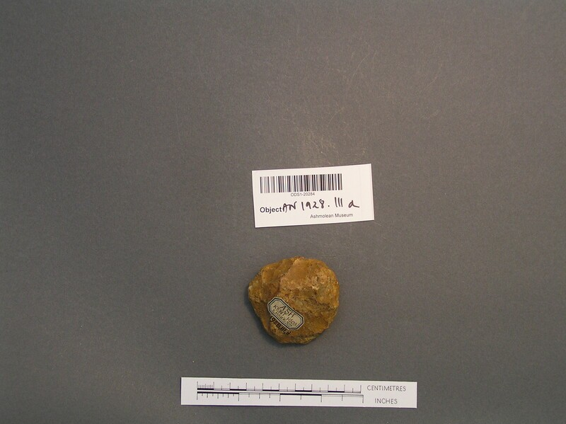 Handaxe (AN1928.111.d, record shot)