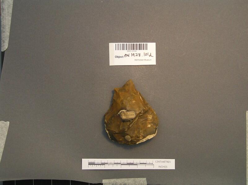 Acheulean handaxe (AN1928.101.d, record shot)