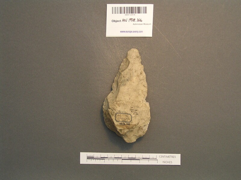 Handaxe (AN1928.166, record shot)