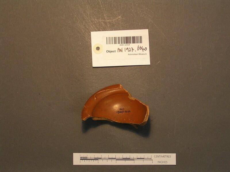 Pot sherd (AN1927.6640, record shot)