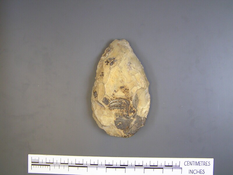 Handaxe (AN1955.75.h, record shot)