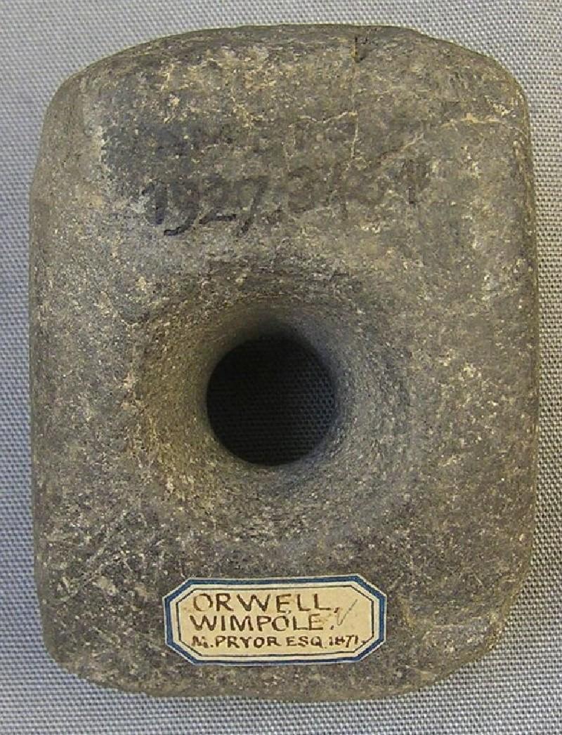 Axe-hammer (AN1927.3451, record shot)