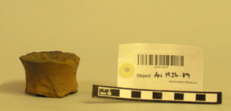 Lamp made from base of Roman vase (AN1926.89, record shot)
