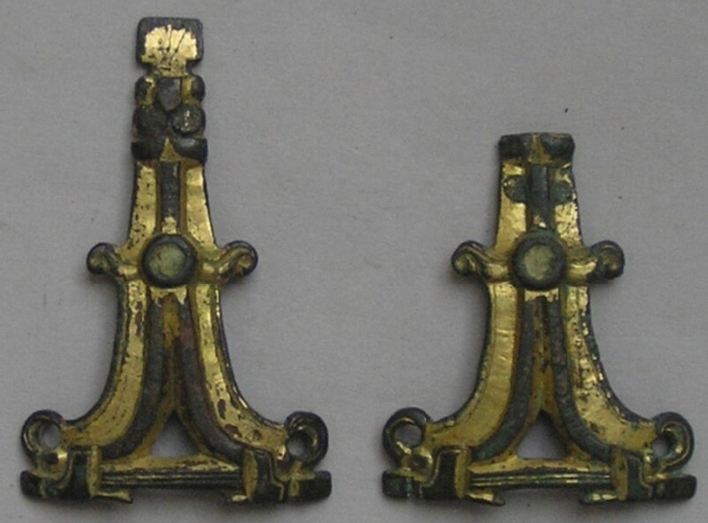 Gusset-plates (pair)