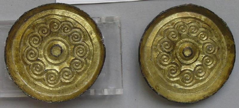 Saucer brooch (AN1966.15.1, record shot)
