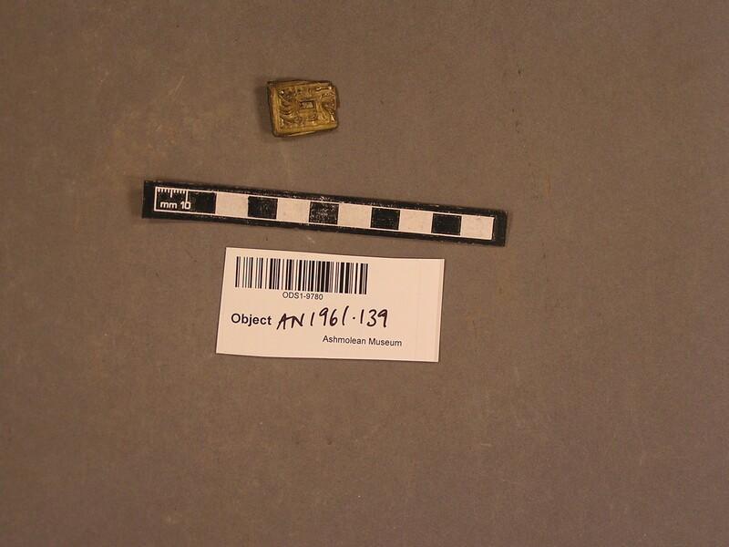 Belt plate (AN1961.139, record shot)