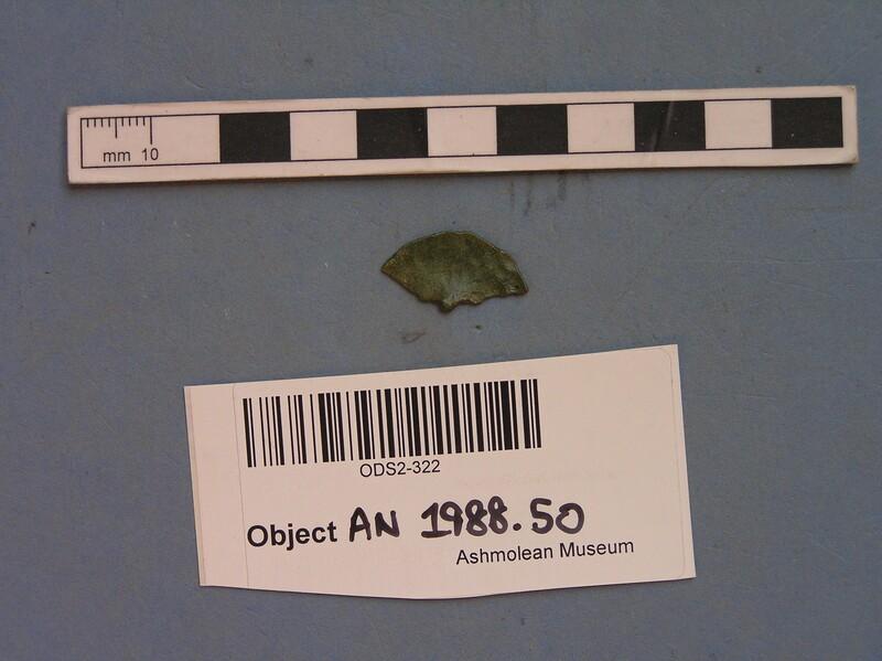 Metal fragment (AN1988.50, record shot)