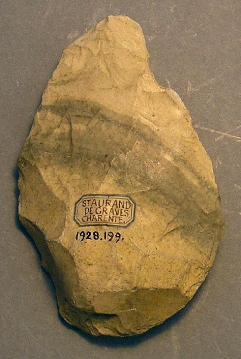 Handaxe (AN1928.199, record shot)