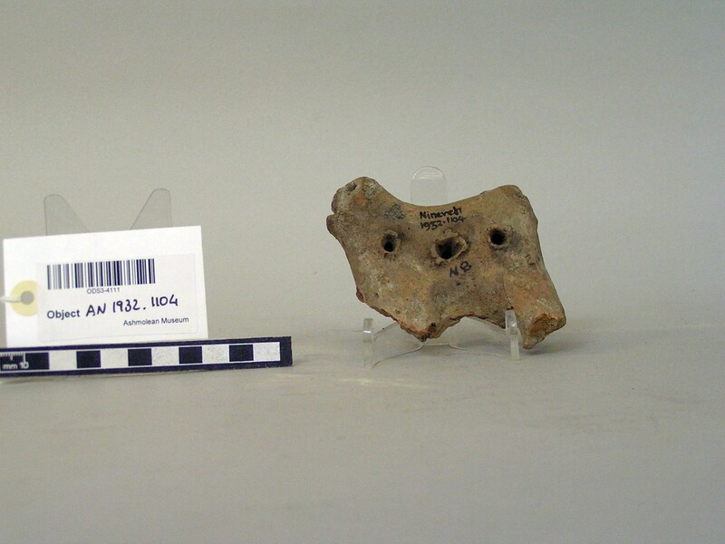 Fragmentary animal figurine (AN1932.1104, record shot)