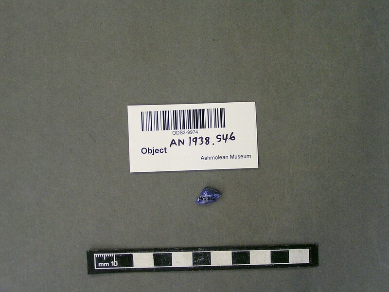 Fragment of lapis lazuli