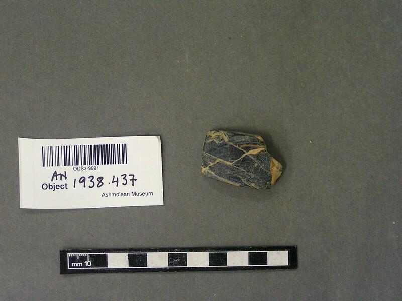 Stone plaque fragment