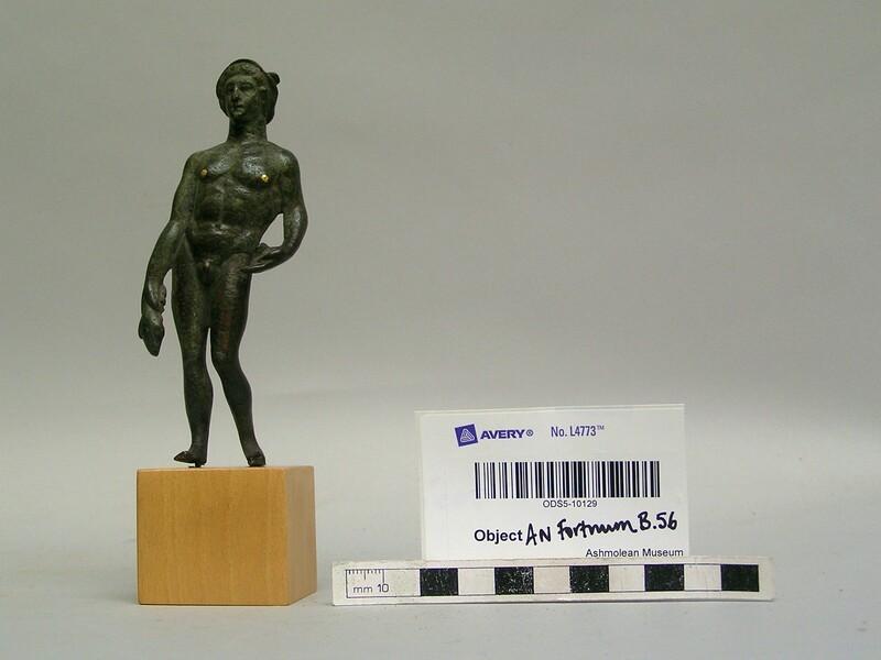 Bronze statuette of Mercury