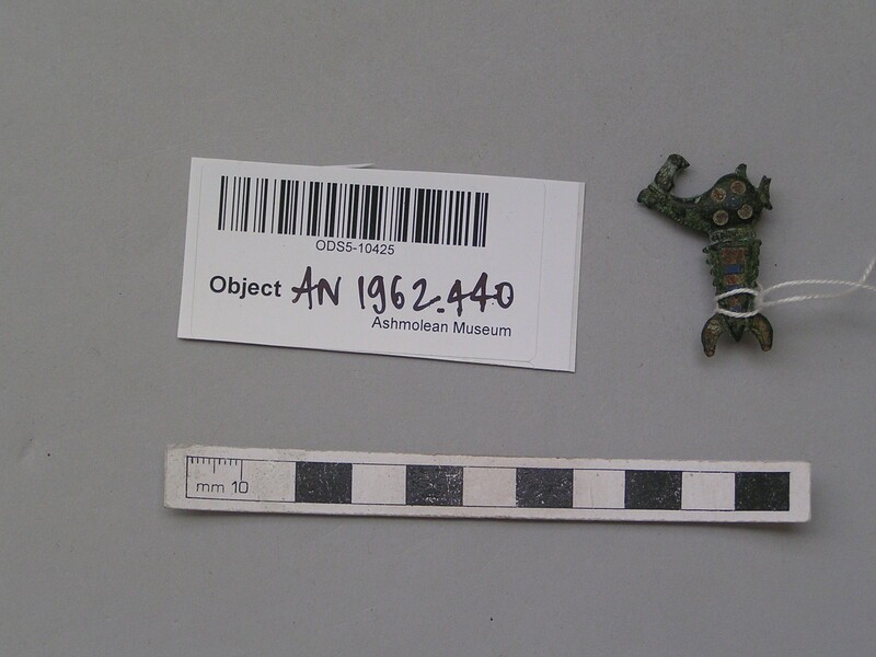 Zoomorphic brooch in form of a hippocamp in profile (AN1962.440, record shot)
