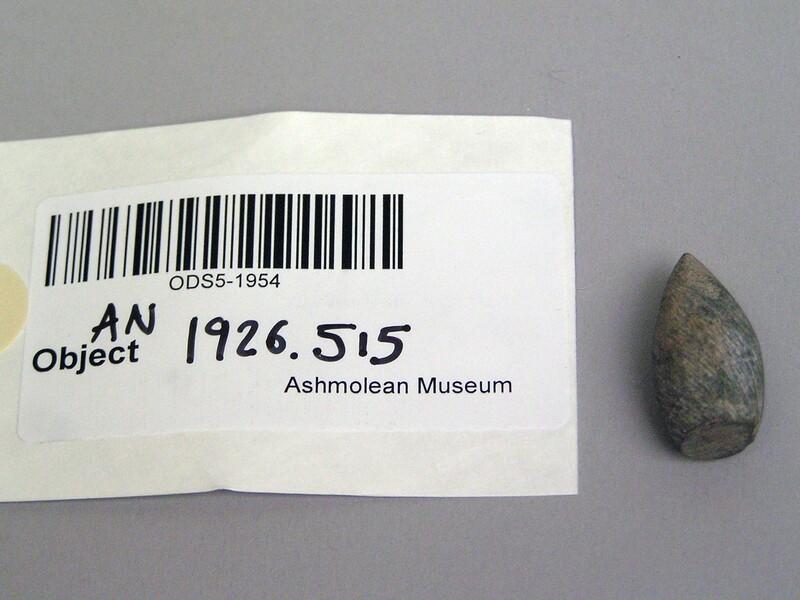 Stone gaming piece or token