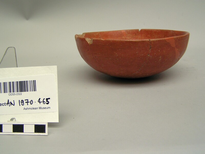Red polished ware bowl (AN1970.465, record shot)