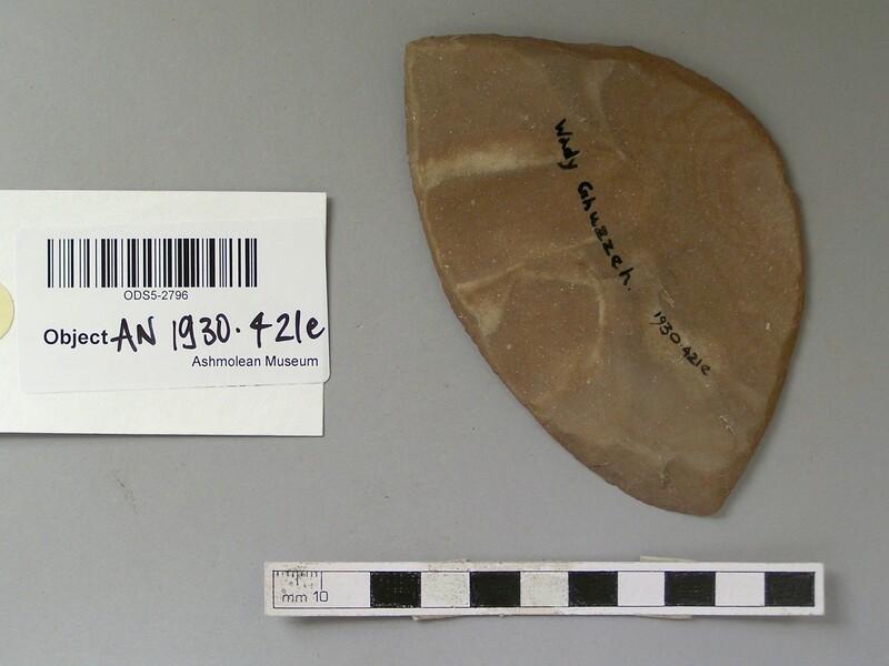 Flint tool (AN1930.421.e, record shot)
