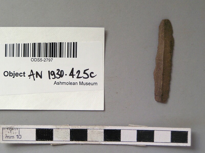 Flint tool (AN1930.425.c, record shot)