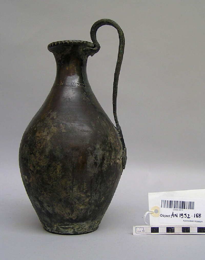Large bronze wine-jug (AN1932.158, record shot)