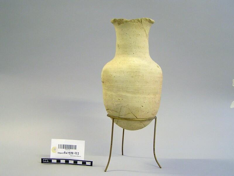 Baked clay pot (AN1938.123, record shot)