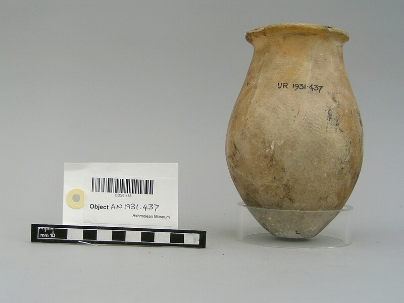 Alabaster round bottomed vessel (AN1931.437, record shot)