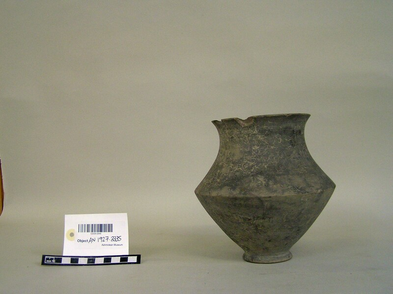Carinated vase (AN1927.3335, record shot)