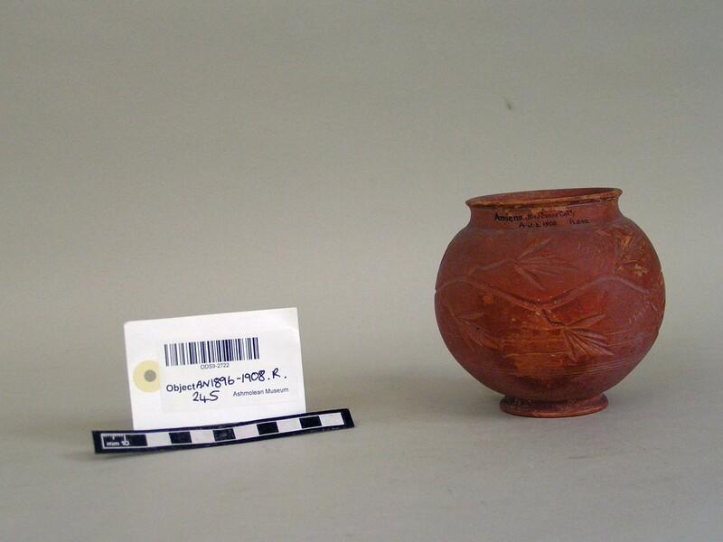 Vase with trailing plant decoration