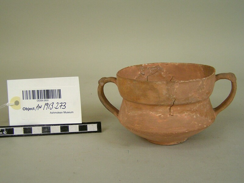 Two-handled cup of fine thin grey ware (AN1913.273, record shot)