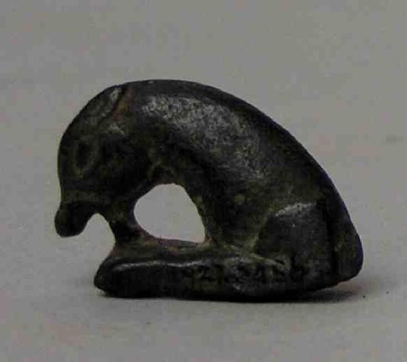 Figurine, dog (AN1927.6456, record shot)