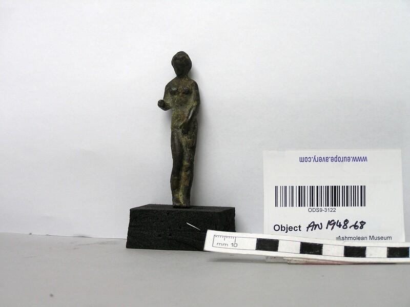 Bronze figurine of Venus (AN1948.66, record shot)