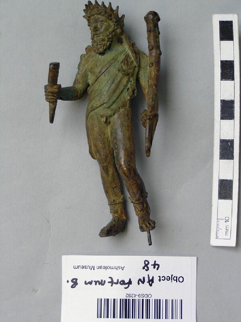 Bronze figurine of Sylvanus