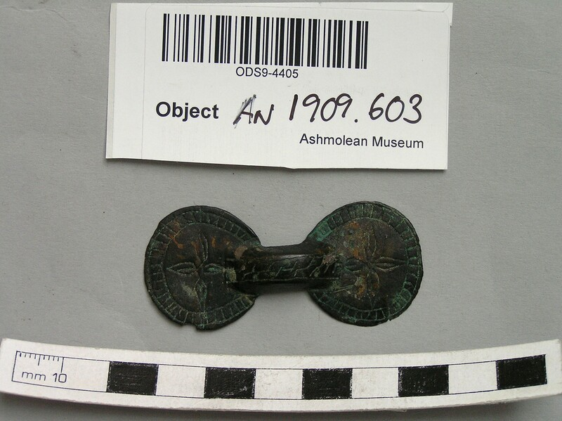 Equal armed brooch
