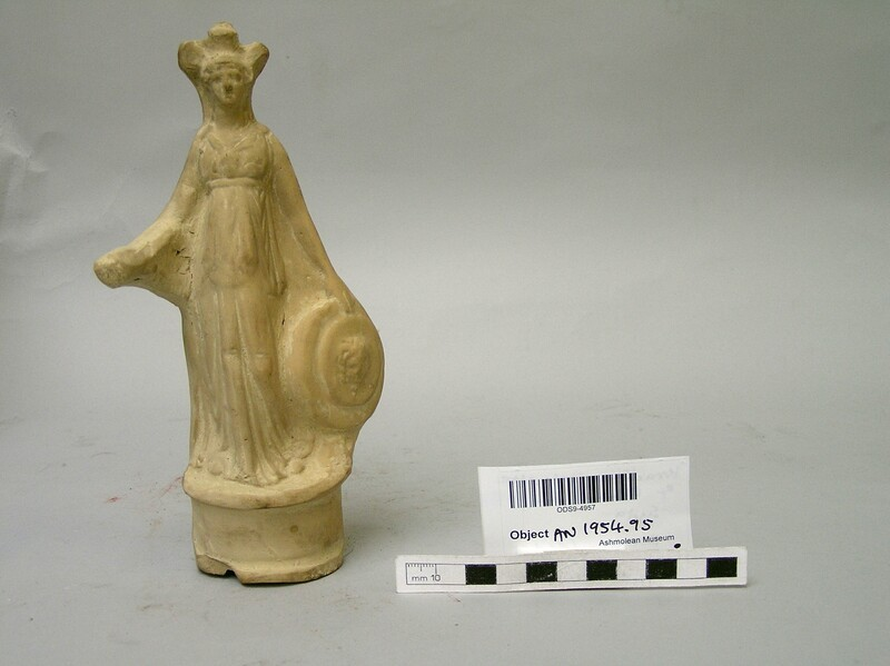 Terracotta statuette of Athena (AN1954.95, record shot)