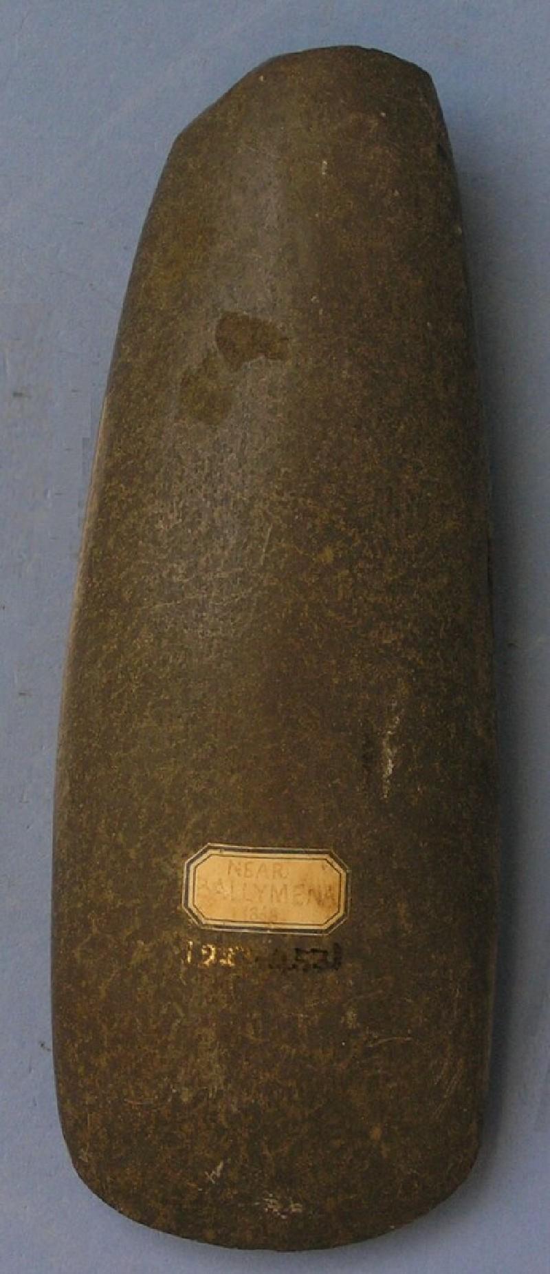 Axe (AN1927.4531, record shot)