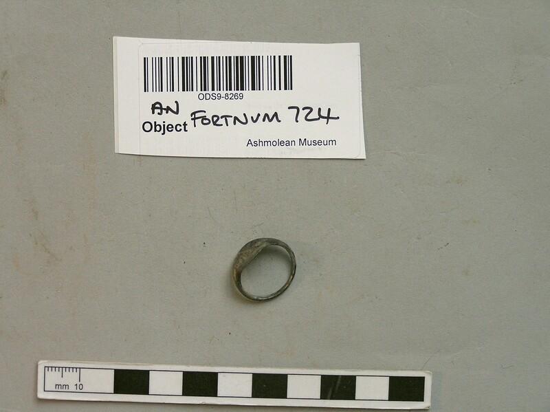 Legionary finger ring marked 'XII'